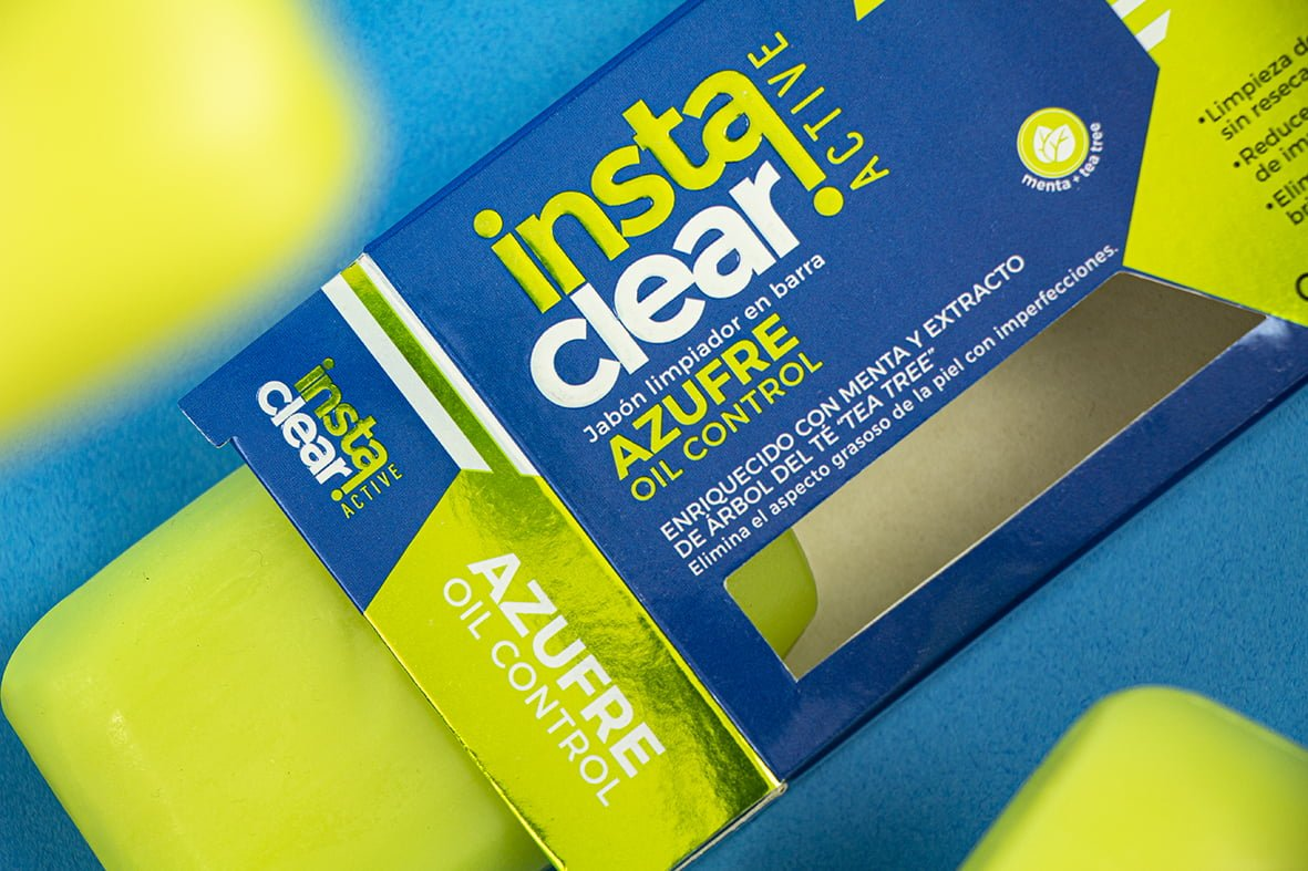 Instaclear Packaging