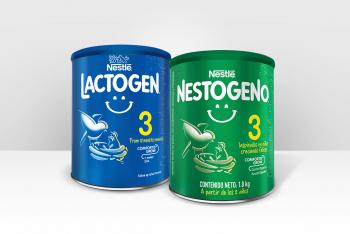 Nestogeno & Lactogen Labels